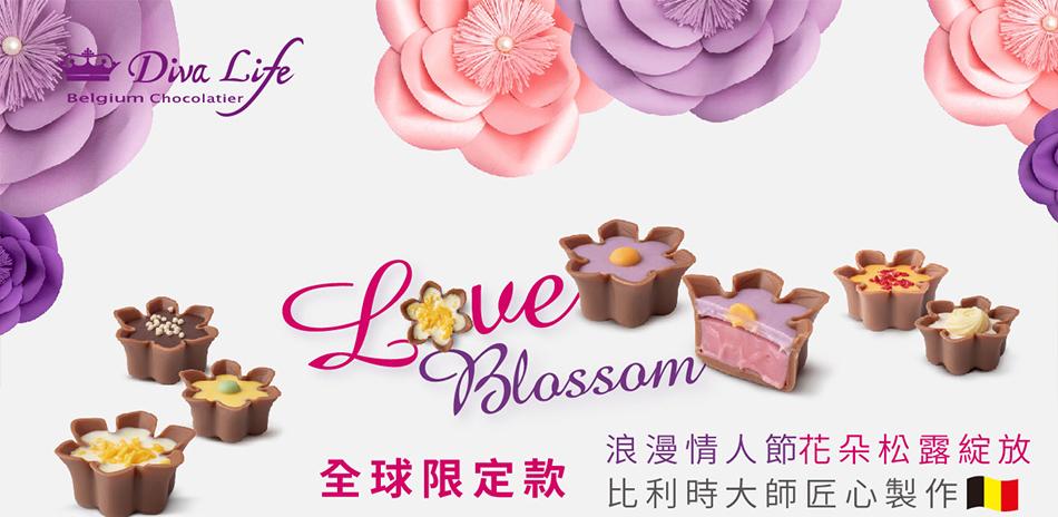 Diva Life 情人節巧克力禮盒